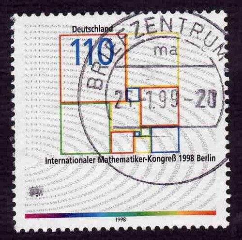 German Used Scott #2010 Catalog Value $.75