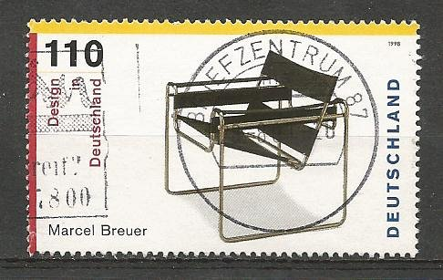 German Used Scott #2014d Catalog Value $1.50