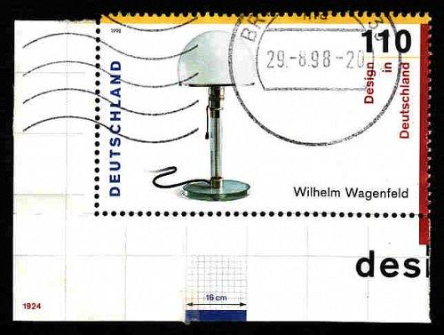 German Used Scott #2014c Catalog Value $1.50