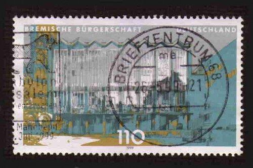 German Used Scott #2031 Catalog Value $.85