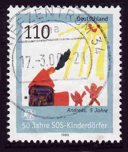 German Used Scott #2043 Catalog Value $.75