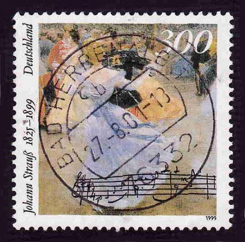 German Used Scott #2045 Catalog Value $2.25
