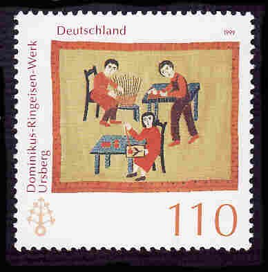 German MNH Scott #2046 Catalog Value $1.30