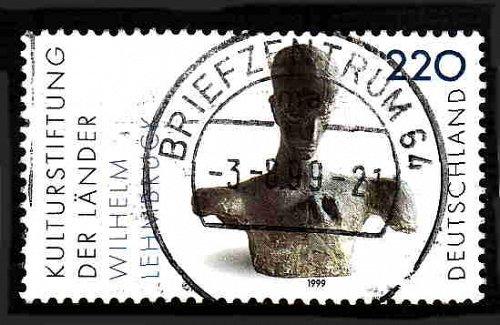 German Used Scott #2049 Catalog Value $1.25