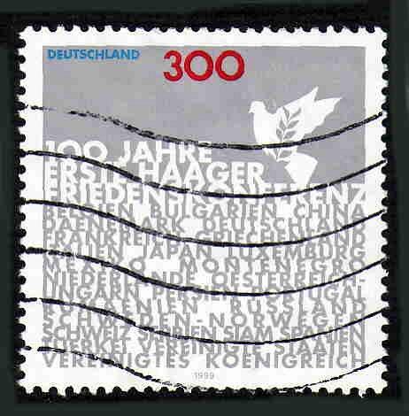 German Used Scott #2050 Catalog Value $2.10