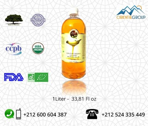 Organic virgin and toasted Argan oil company (Culinary Argan Oil)