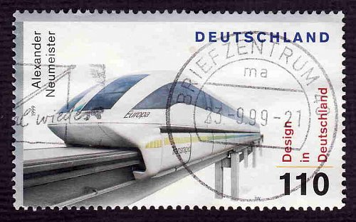 German Used Scott #2051d Catalog Value $1.35