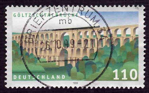 German Used Scott #2057 Catalog Value $.85