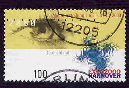 German Used Scott #2060 Catalog Value $.85