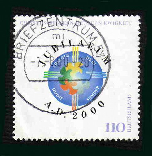 German Used Scott #2061 Catalog Value $.85