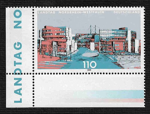 German MNH Scott #2075 Catalog Value $1.40