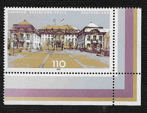 German MNH Scott #2076 Catalog Value $1.40