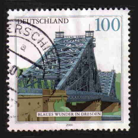 German Used Scott #2080 Catalog Value $.75