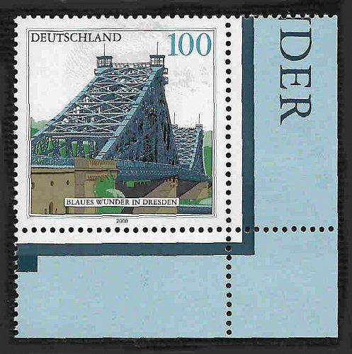 German MNH Scott #2080 Catalog Value $1.20