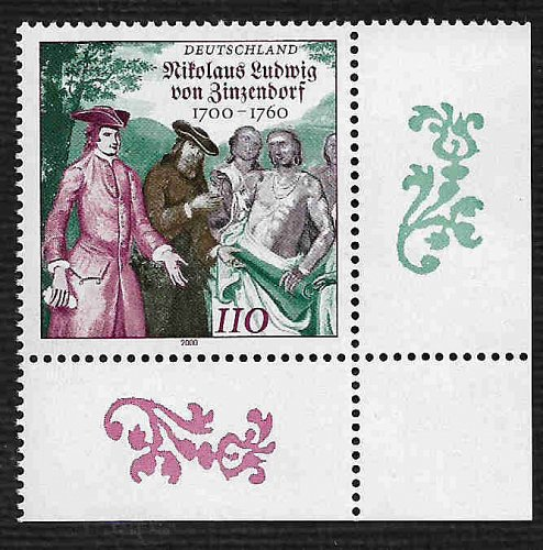 German MNH Scott #2085 Catalog Value $1.30