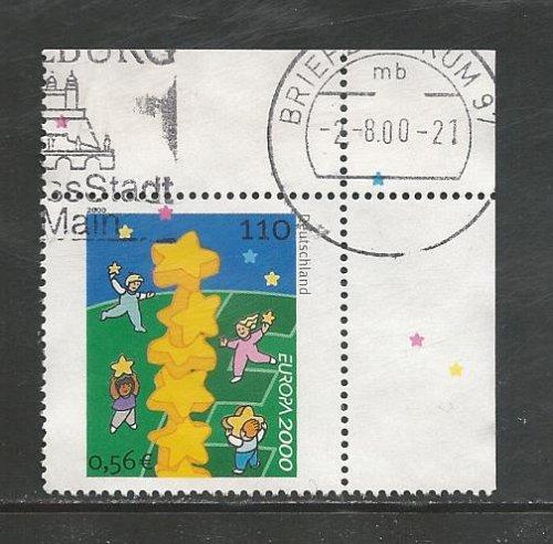 German Used Scott #2086 Catalog Value $.90