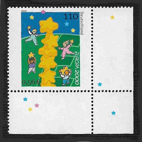 German MNH Scott #2086 Catalog Value $1.75