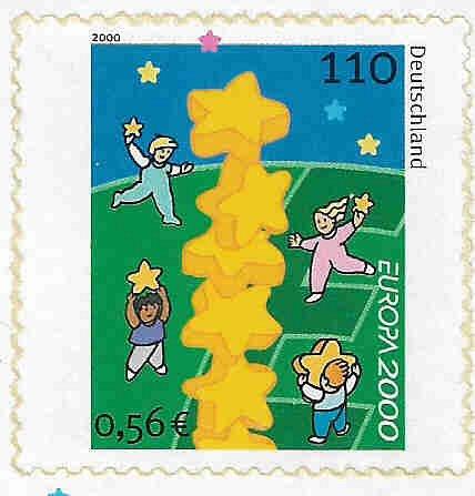 German MNH Scott #2087 Catalog Value $2.60