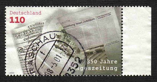 German Used Scott #2088 Catalog Value $.85