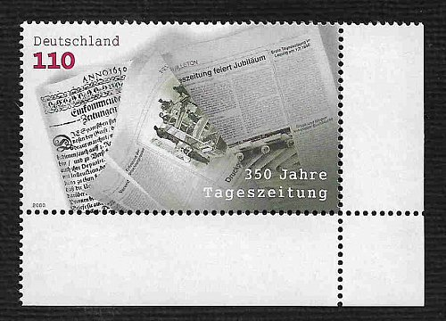 German MNH Scott #2088 Catalog Value $1.40