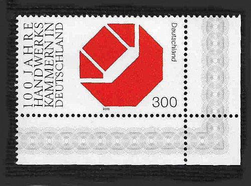 German MNH Scott #2089 Catalog Value $3.50