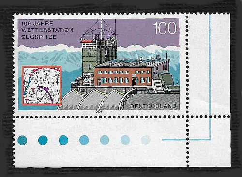 German MNH Scott #2090 Catalog Value $1.50
