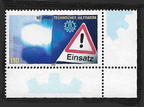 German MNH Scott #2091 Catalog Value $1.50