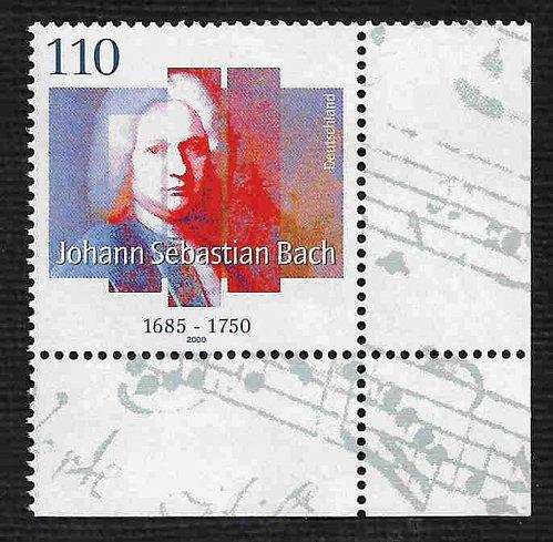 German MNH Scott #2092 Catalog Value $1.50
