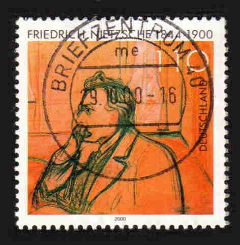 German Used Scott #2095 Catalog Value $.85