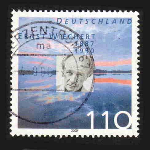German Used Scott #2096 Catalog Value $.85