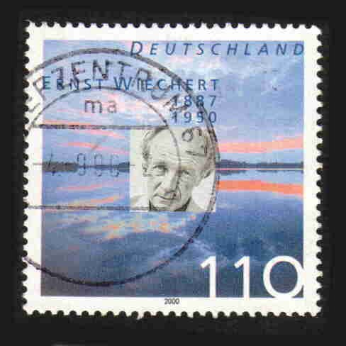 German Used Scott #2096 Catalog Value $.80