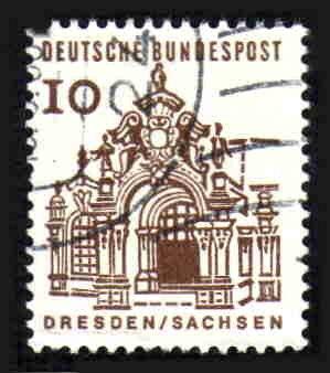 German Used Scott #903 Catalog Value $.25