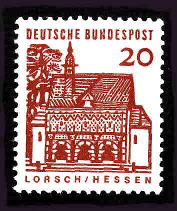 German MNH Scott #905 Catalog Value $.30