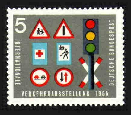 German MNH Scott #919 Catalog Value $.25