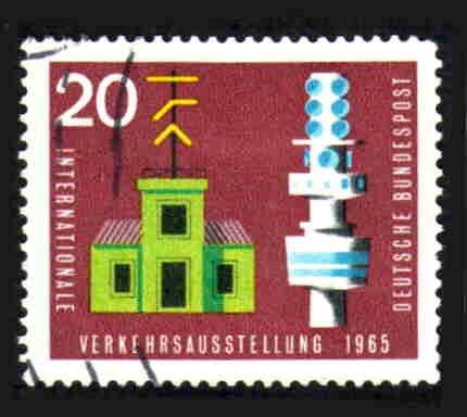 German Used Scott #922 Catalog Value $.30