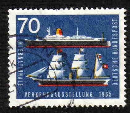 German Used Scott #925 Catalog Value $.30