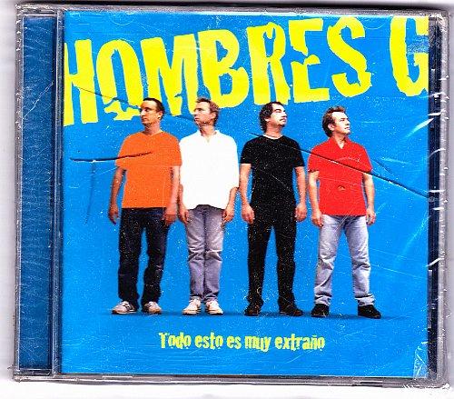 Todo Esto Es Muy Extrano by Hombres G CD 2005 - Brand New - Factory Sealed