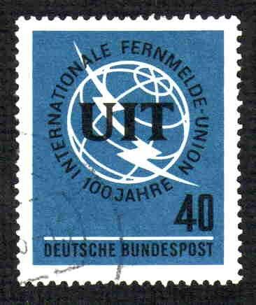 German Used Scott #927 Catalog Value $.40