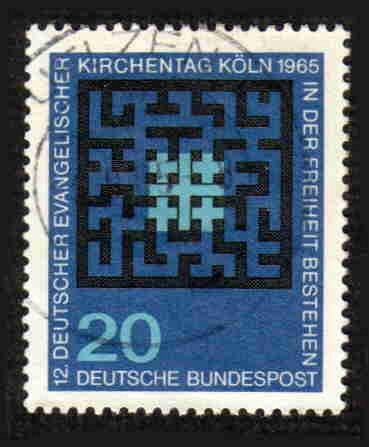 German Used Scott #931 Catalog Value $.30