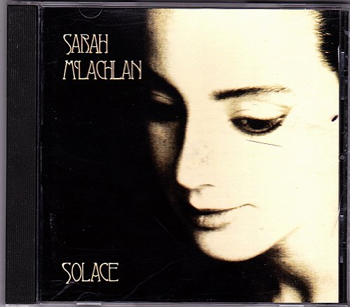 Solace by Sarah McLachlan CD 1992 - Very Good