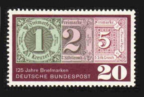 German MNH Scott #933 Catalog Value $.25