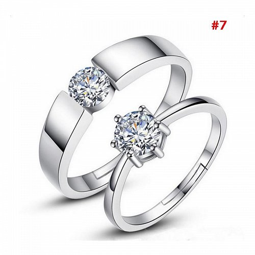 fashion women and men wedding rings