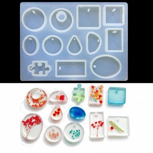 fashion cake silicone DIY jewelry craft mold