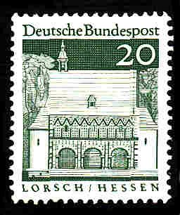 German MNH Scott #939 Catalog Value $.25