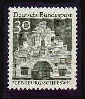 German MNH Scott #940 Catalog Value $.25