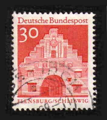 German Used Scott #941 Catalog Value $.25