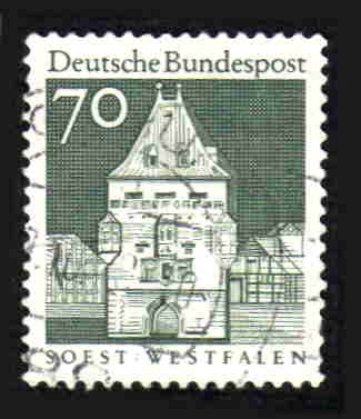 German Used Scott #945 Catalog Value $.25