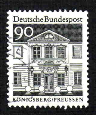 German Used Scott #947 Catalog Value $.30