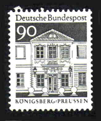 German Hinged Scott #947 Catalog Value $.80