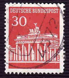 German Used Scott #954 Catalog Value $.25